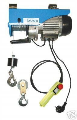 Argani paranchi verricelli elettrici 220v for Argano elettrico 220v con telecomando